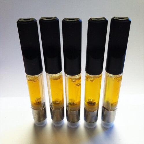 5 CO2 Cannabis Oil Cartridges