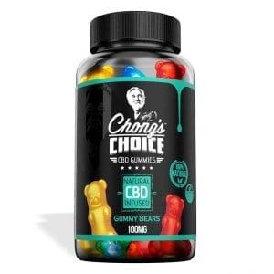 Chong's Choice Gummies - CBD Infused Gummy Bears [Edible Candy]