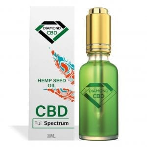 Diamond CBD Full Spectrum Hemp Seed Oil