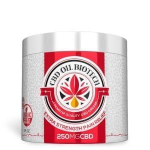 Biotech CBD Cream 250MG