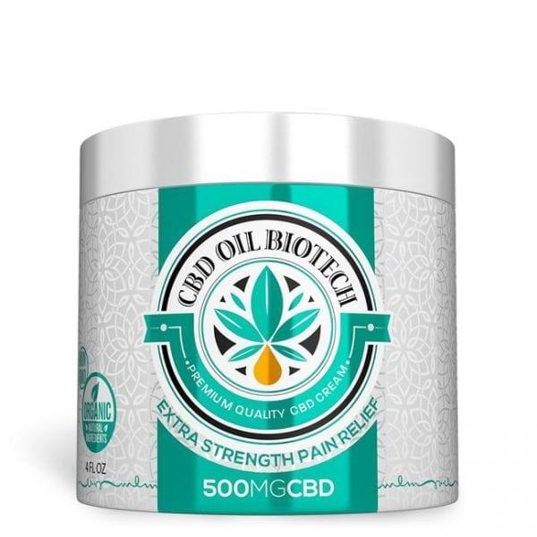 Biotech CBD Cream 500MG