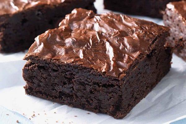 Cannabis infused brownies.