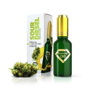 Sour Diesel Terpenes Diamond CBD Oil 1000 mg