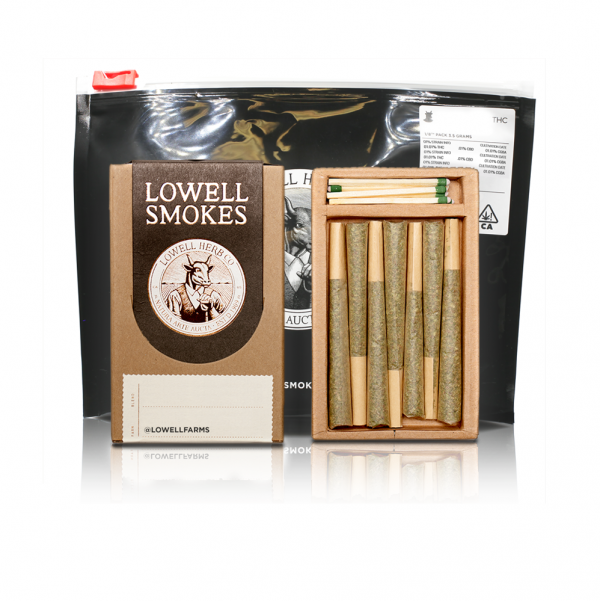 CBD Preroll Eighth Pack by Lowell's