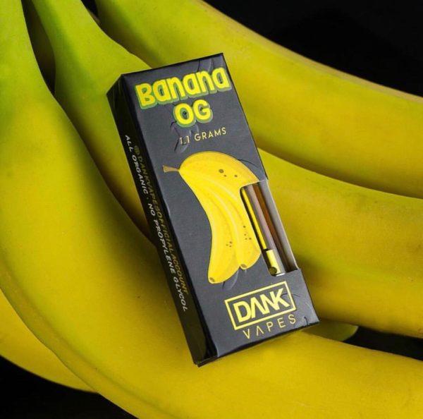 Banana OG Kush Dank Vape online