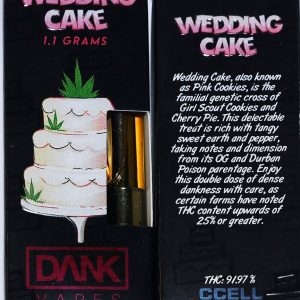 Wedding Cake Dank Vape online