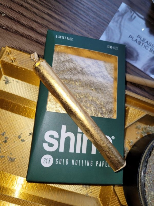 Shine 24k Gold Rolling Papers Wholesale
