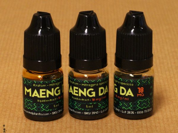 Red Borneo Kratom Liquid Spray
